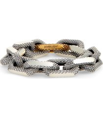 ambush textured chain bracelet