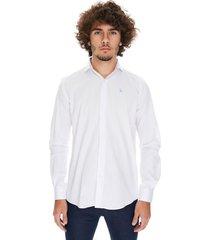 camisa blanca crow idaho classics
