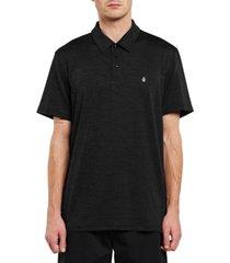 volcom men's hazard performance short sleeve polo t-shirt