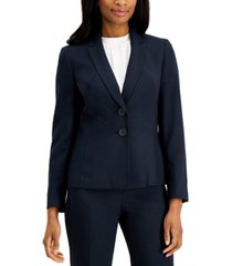 le suit crossdye two-button pantsuit