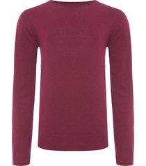 suéter masculino básico - vermelho