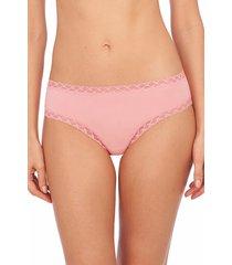 natori intimates bliss girl comfortable brief panty underwear, women's, 100% cotton, size xl