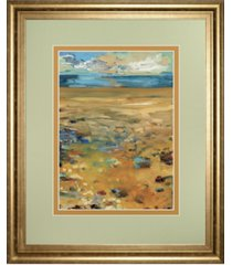 "classy art high point of summer by jennifer harwood framed print wall art, 34"" x 40"""