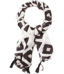 pañuelo blanco/negro humana