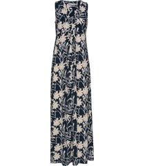 frjeself 4 dress maxiklänning festklänning blå fransa