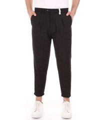 pantalon bicolore f2560-nickel