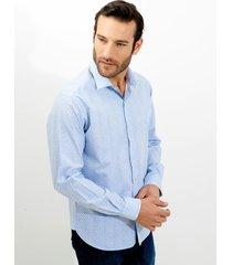 camisa dudalina manga longa estampada e xadrez masculina (xadrez, 6)