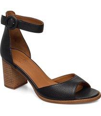 shoes sandal med klack svart billi bi