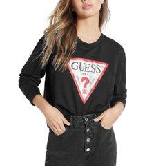 guess classic logo sweatshirt