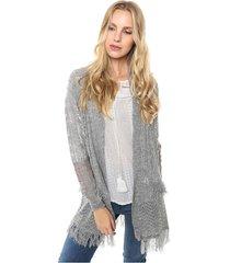 saco gris moni tricot