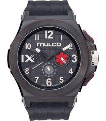 reloj mulco para hombre - blacksteel  mw-5-4379-026
