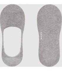 reiss shortie - short socks in grey melange, mens