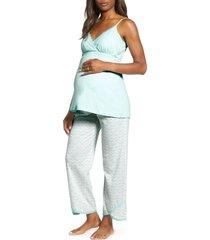 women's belabumbum maternity/nursing pajamas