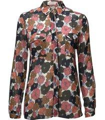 athalie blouse lange mouwen wit custommade