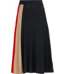 tommy hilfiger knitted icon skirt