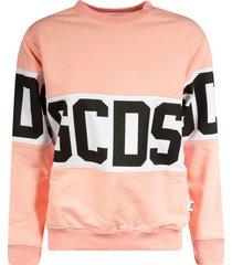 gcds logo mid sweatshirt