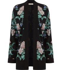 gebloemde kimono