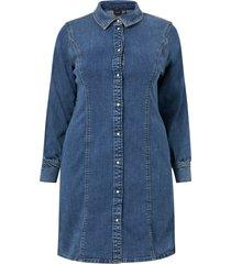 jeansklänning vmpolena ls denim dress