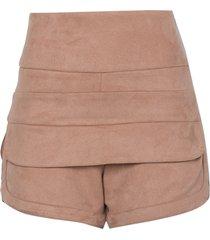 shorts le lis blanc polly iii nude feminino (roebuck, 50)