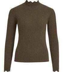 knit rib top