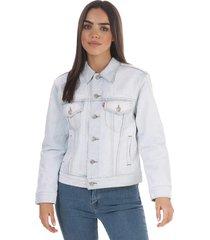 womens ex-boyfriend lined trucker jacket
