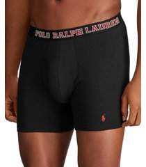 polo ralph lauren men's breathable mesh 3-pack boxer brief