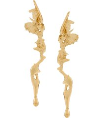 annelise michelson lava earrings - gold