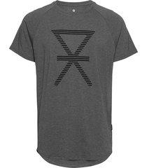 jbs of denmark t-shirt w/print t-shirts short-sleeved grå jbs of denmark