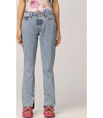 ganni jeans ganni 5-pocket jeans
