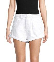 bandits high-waist denim shorts