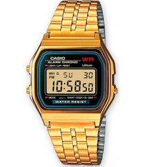 reloj retro dorado casio