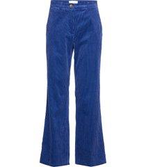d lla mw trousers wijde broek blauw second female