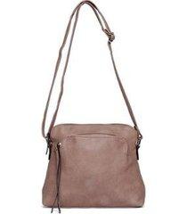 bolsa nice bag flat alça regulável feminina