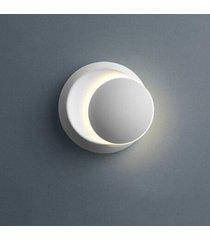 5w sala comedor dormitorio led alrededor de la media luna lámpara de pared - luz blanca blanca