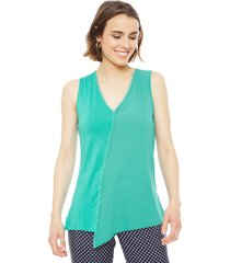 blusa ash verde - calce regular
