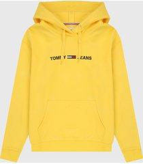 buzo amarillo-azul tommy jeans