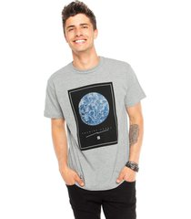 camiseta hang loose cwat world cinza - cinza - masculino - dafiti