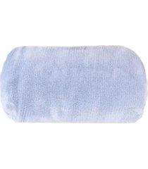 cobertor manta alpes solteiro extra macia azul - tessi - unico - dafiti