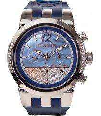 reloj bluemarine infinity azul mulco