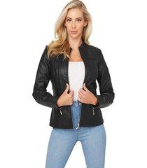 chaqueta g factory donatela jacket negro guess