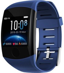 q11 tracker de salud smart watch impermeable pulsera fitness recordar