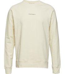 geoff print 3383 sweat-shirt trui wit nn07