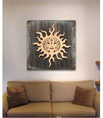 designocracy celtic sun charm wood box sig