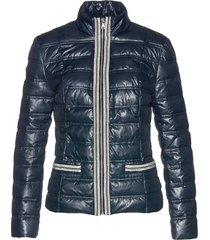 giacca trapuntata con bordi di perle (blu) - bpc selection premium