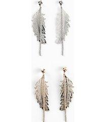 orecchini (set 4 pezzi) (argento) - bpc bonprix collection