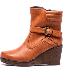 botin isabel brown chancleta