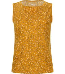 top amarillo floral color amarillo, talla l