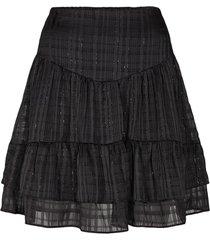 rok met lurexpint polly  zwart