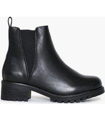 duffy warm chelsea boots flat boots