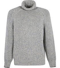 brunello cucinelli turtleneck woven sweater